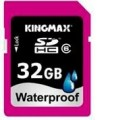 Флеш карта SDHC 32Gb Class6 Kingmax Waterproof