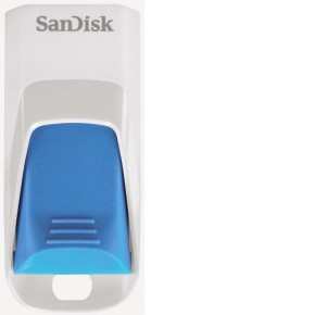 Накопитель USB Flash drive 16Gb Sandisk Cruzer Edge Light Blue SDCZ51W-016G-B35B SDCZ51W-016G-B35B