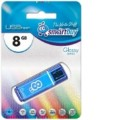 Накопитель USB-Flash 8Gb Smart Buy Glossy series Green SB8GBGS-G