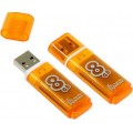 Накопитель USB-Flash 8Gb Smart Buy Glossy series Orange SB8GBGS-Or