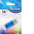 Накопитель USB-Flash 16Gb Smart Buy V-Cut Blue SB16GBVC-B