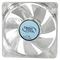 Вентилятор Deepcool XFAN 80L B 3-pin 20dB 60gr LED Ret