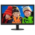 Монитор Philips 23 8 240V5QDAB 00 01 черный IPS LED 16 9 DVI HDMI M M Mat 250cd