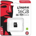 micro SDHC карта памяти Kingston 16GB cl10 UHS-I Canvas Select up to 80MB s без ад SDCS 16GBSP